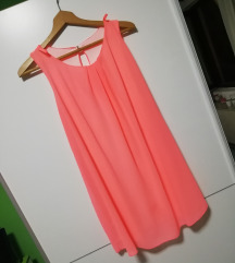 Neon roze haljina