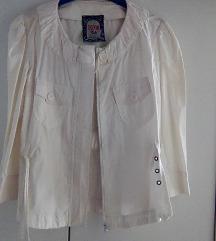 Bela letnja jaknica Todor
