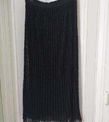 Dugacka suknja sa cipkom