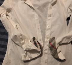 Original bela Burberry košulja na duge rukave