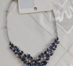 Nova ogrlica,kraljevsko plava,AKCIJA