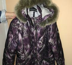 Luhta perjana jakna sa prirodnim krznom