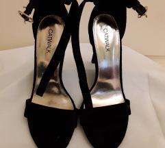 6.CATWALK crne sandale vel. 36 – nove