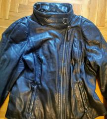 Bajkerska kozna zenska jakna, velicina L/XL