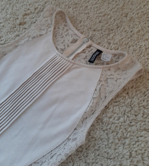 Divided by H&M haljinica nude puder boje 👑