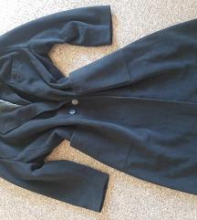Predivan Kasmir crni oversized kaput