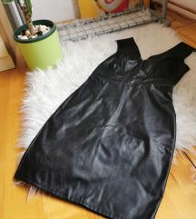 Kožna uska haljina