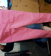 Roze farmerke