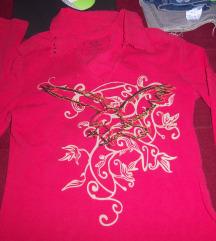 Crvena zenska majica dugih rukava H&Y