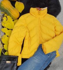 Zimska zuta jakna vel. M - NOVO