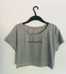 Top Crop Stay Beautiful M/L