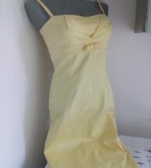 Hallhuber zuta haljina S