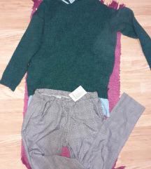 Novo Tanje karirane pantalone