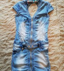 Mini teksas haljina