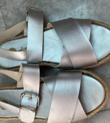 Sandale srebrna