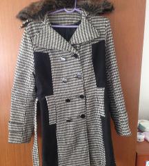 Pepito zenski kaput sa vestackim krznom