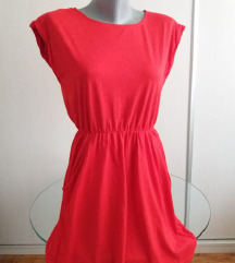 Crvena H&M haljina
