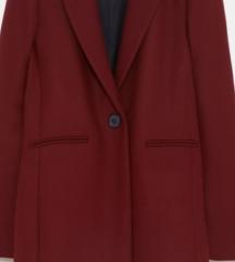 Zara bordo kaput