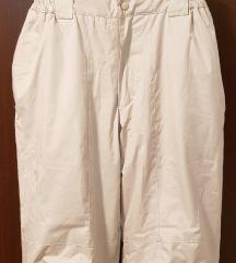 Smeđe ski pantalone