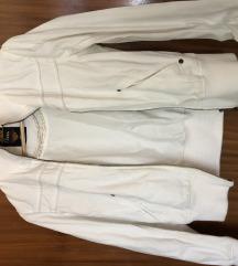 Bela pamucna jakna-M