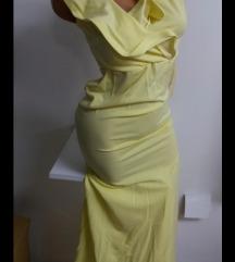 Nova žuta haljina sa etiketom