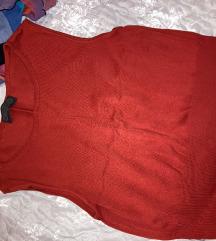 Crvena majica bez rukava