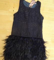 MAY & CO NOVA  fantasticna teget haljina, vel M/L