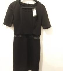 Nova Amisu crna haljina sa etiketom