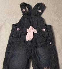 Pantalone sa tregerima za bebe