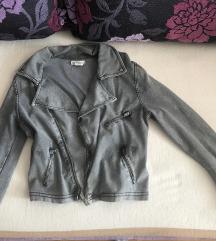 siva decija jaknica