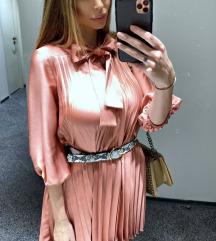 Zara plisirana haljina