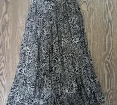 Suknja plisirana h und m