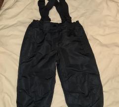 Crne ski pantalone vel. 92 - kao nove