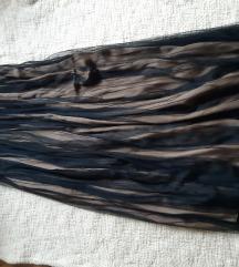 Massimo Dutti suknja iz dva sloja