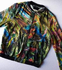 LINDEX svilena jaknica S-M