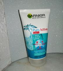 Garnier pure active 3 in 1