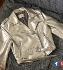 Vrh nova zlatna biker jakna