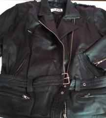 Rokerica jakna od prirodne kože L