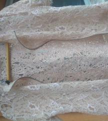 Zara crop cipkasta kosulja