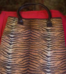 Animal print torba za kupovinu, ceger