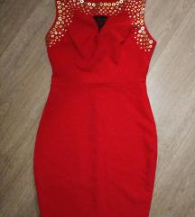 %❤️Fervente crvena haljina  kao NOVA! 💃SNIZENO!