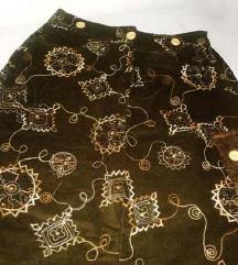 Marchello zvonasta suknja  od somota