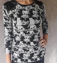 Siva bluza/tunika