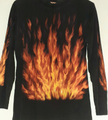 all in flames vatra bluza M