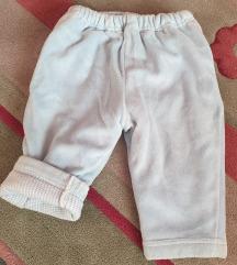 Debele zimske pantalone za decake 68 cm