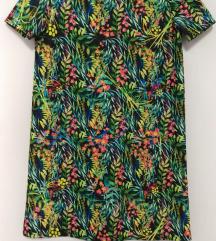 Šarena cvetna haljina NOVA