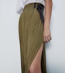 Zara satenska suknja