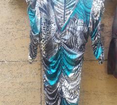 Haljina sa leopard printom