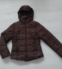 H&M punjena braon jakna - kao nova