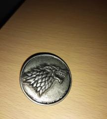 Broš Stark porodice iz serije Igre prestola